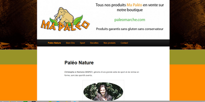 paleomarche capture ecran site blog